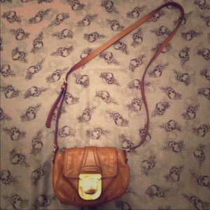 Pebbled Leather Michael Kor's Crossbody Bag